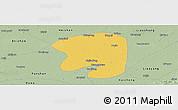 Savanna Style Panoramic Map of Taian