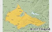 Savanna Style Map of Tieling