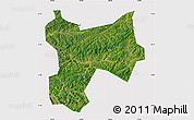Satellite Map of Xinbin, cropped outside