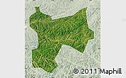Satellite Map of Xinbin, lighten