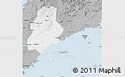 Gray Map of Xinjin