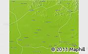 Physical 3D Map of Xinmin