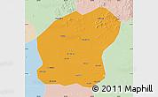 Political Map of Xinmin, lighten