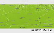 Physical Panoramic Map of Xinmin