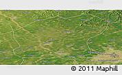 Satellite Panoramic Map of Xinmin