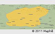 Savanna Style Panoramic Map of Xinmin