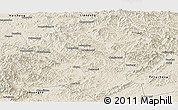 Shaded Relief Panoramic Map of Xiuyan