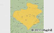 Savanna Style Map of Zhangwu