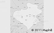 Silver Style Map of Zhangwu