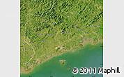 Satellite Map of Zhuanghe