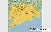 Savanna Style Map of Zhuanghe