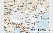 Classic Style Map of China