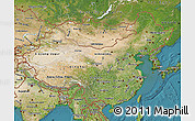 Satellite Map of China