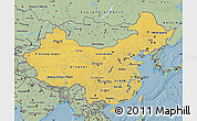 Savanna Style Map of China