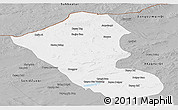 Gray Panoramic Map of Abag Qi