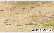 Satellite Panoramic Map of Abag Qi