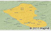Savanna Style Panoramic Map of Abag Qi
