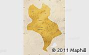 Physical Map of Abagnar Qi, lighten