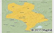 Savanna Style Panoramic Map of Abagnar Qi