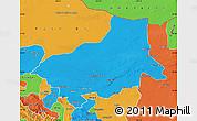 Political Map of Alxa Youqi