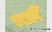 Savanna Style Map of Alxa Youqi