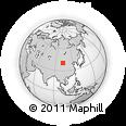 Outline Map of Alxa Youqi