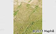 Satellite Map of Aohan Qi