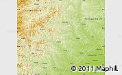 Physical Map of Arun Qi