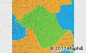 Political Map of Arun Qi