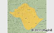 Savanna Style Map of Arun Qi