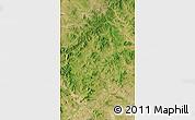 Satellite Map of Bairin Zuoqi