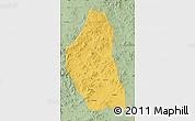 Savanna Style Map of Bairin Zuoqi