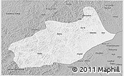 Gray 3D Map of Butha Qi