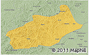 Savanna Style 3D Map of Butha Qi