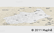 Classic Style Panoramic Map of Butha Qi