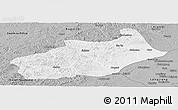 Gray Panoramic Map of Butha Qi