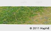 Satellite Panoramic Map of Butha Qi