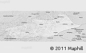 Silver Style Panoramic Map of Butha Qi