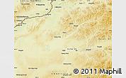 Physical Map of Chenbarag Qi