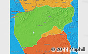 Political Map of Chenbarag Qi