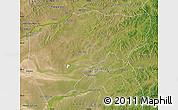 Satellite Map of Chenbarag Qi