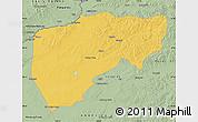 Savanna Style Map of Chenbarag Qi