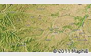 Satellite Map of Chifeng