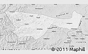 Silver Style Map of Chifeng