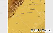 Physical Map of Dengkou