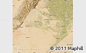 Satellite Map of Dengkou