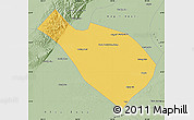Savanna Style Map of Dengkou