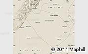 Shaded Relief Map of Dengkou