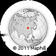 Outline Map of Dengkou