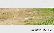 Satellite Panoramic Map of Dong Ujimqin Qi